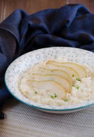 Risotto alle pere e taleggio ricetta facile