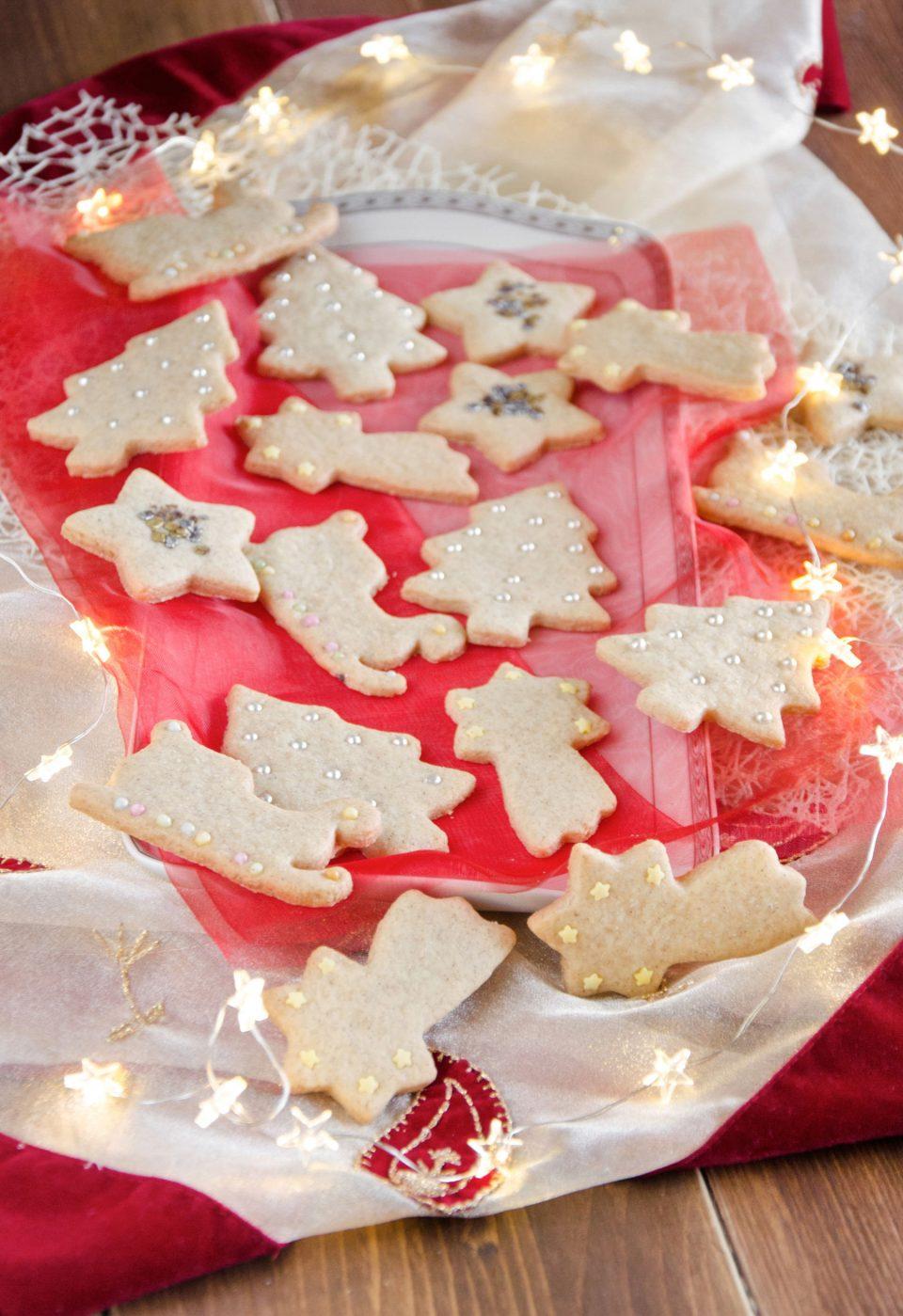 Biscotti di Natale profumati e golosi