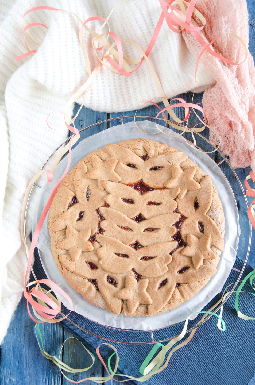 Crostata facile con farina di castagne ricetta
