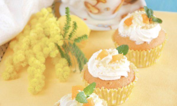 Cupcake mimosa ricetta per la festa della donna