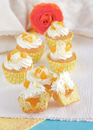 Cupcake mimosa vista interno