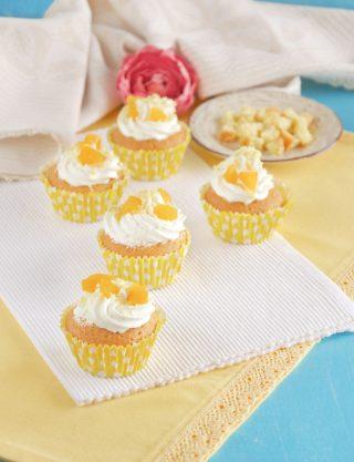Cupcake mimosa dolcetti gustosi