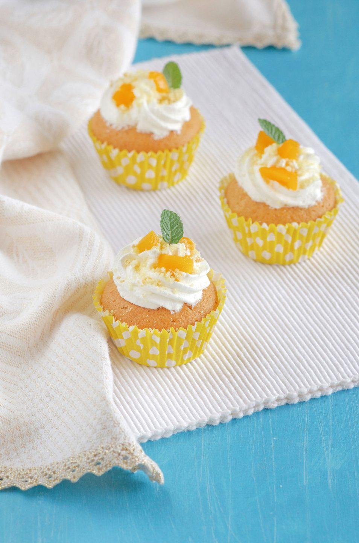 Cupcake mimosa ricetta deliziosa