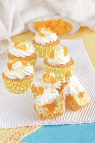 Cupcake mimosa foto interno