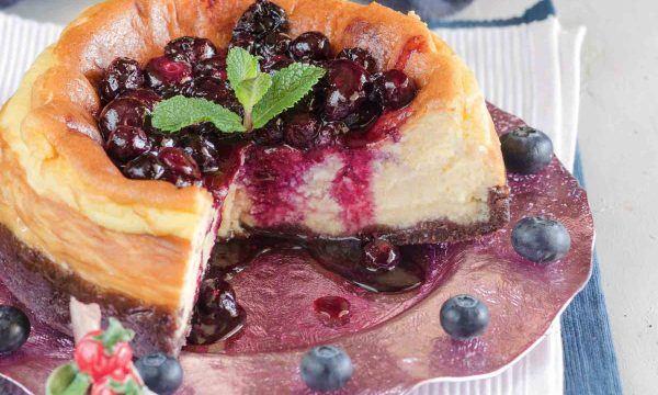 Cheesecake ai mirtilli ricetta golosa