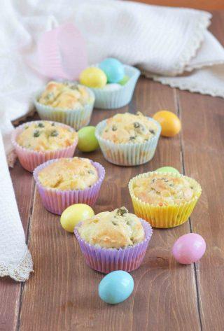 Muffin salati con piselli sfiziosissimi