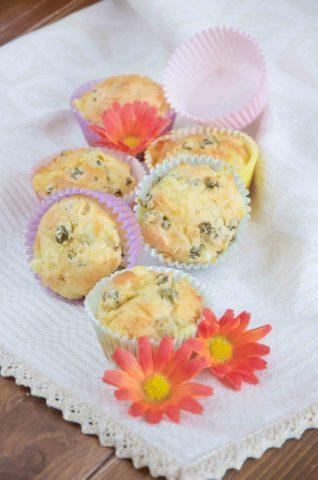Muffin salati antipasto delizioso