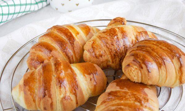 Croissant sfogliati ricetta golosa