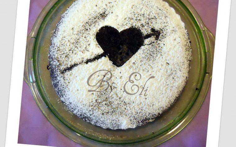 Torta leggera al cacao(senza uova, latte, burro e olio)