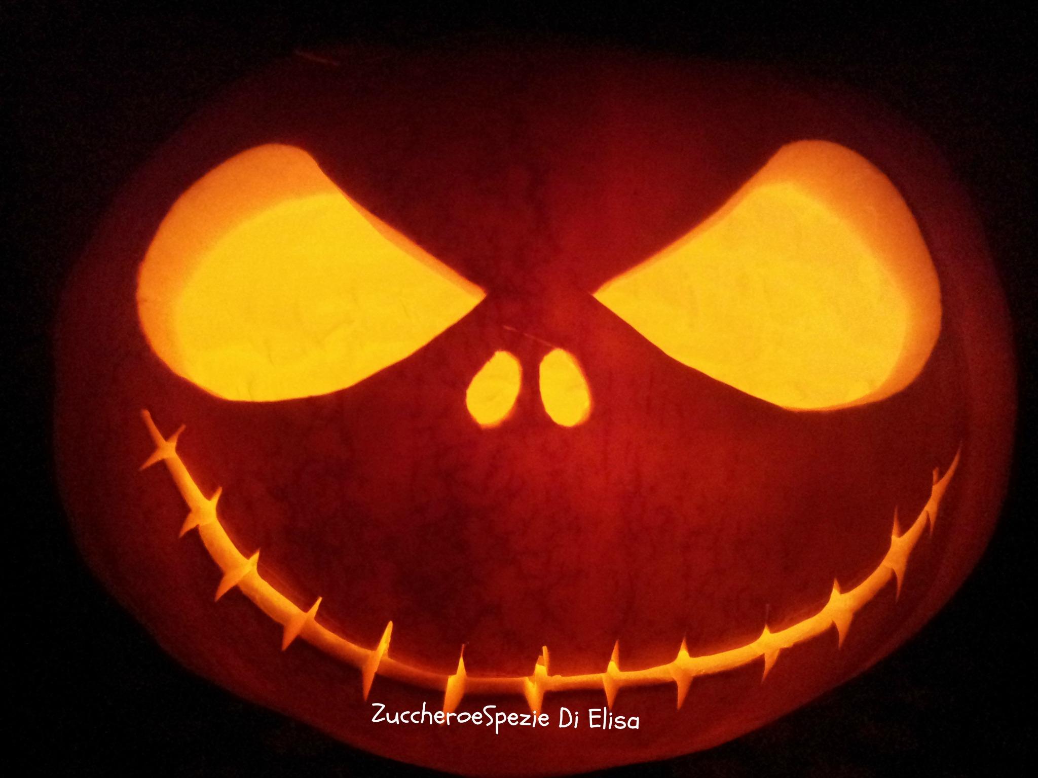 Come preparare la zucca di halloween ricette semplici per - Come disegnare immagini di halloween ...