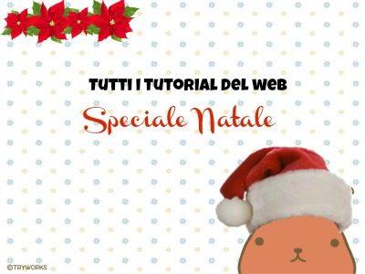 Tutti i tutorial del web Speciale Natale