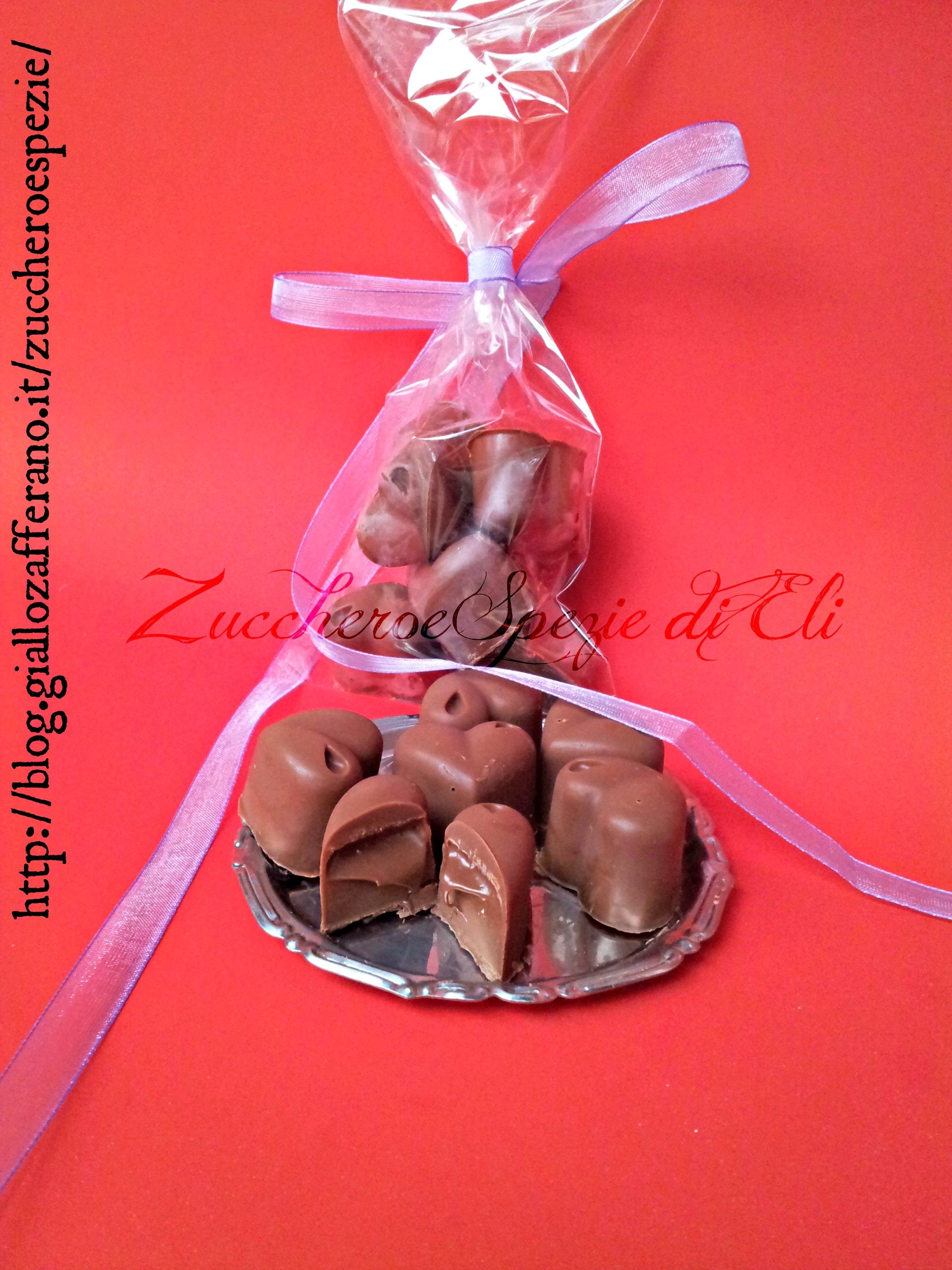Preferenza Cioccolatini con cuore di Nutella. Idee regalo per Natale DY63