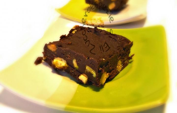 Ricetta dei cubetti di cioccolato e pistacchio