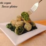 Polpette di spinaci vegan e senza glutine