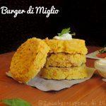 Burger di Miglio e Curcuma Vegani e senza glutine