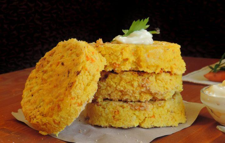 Burger di Miglio e Curcuma Vegani senza Glutine