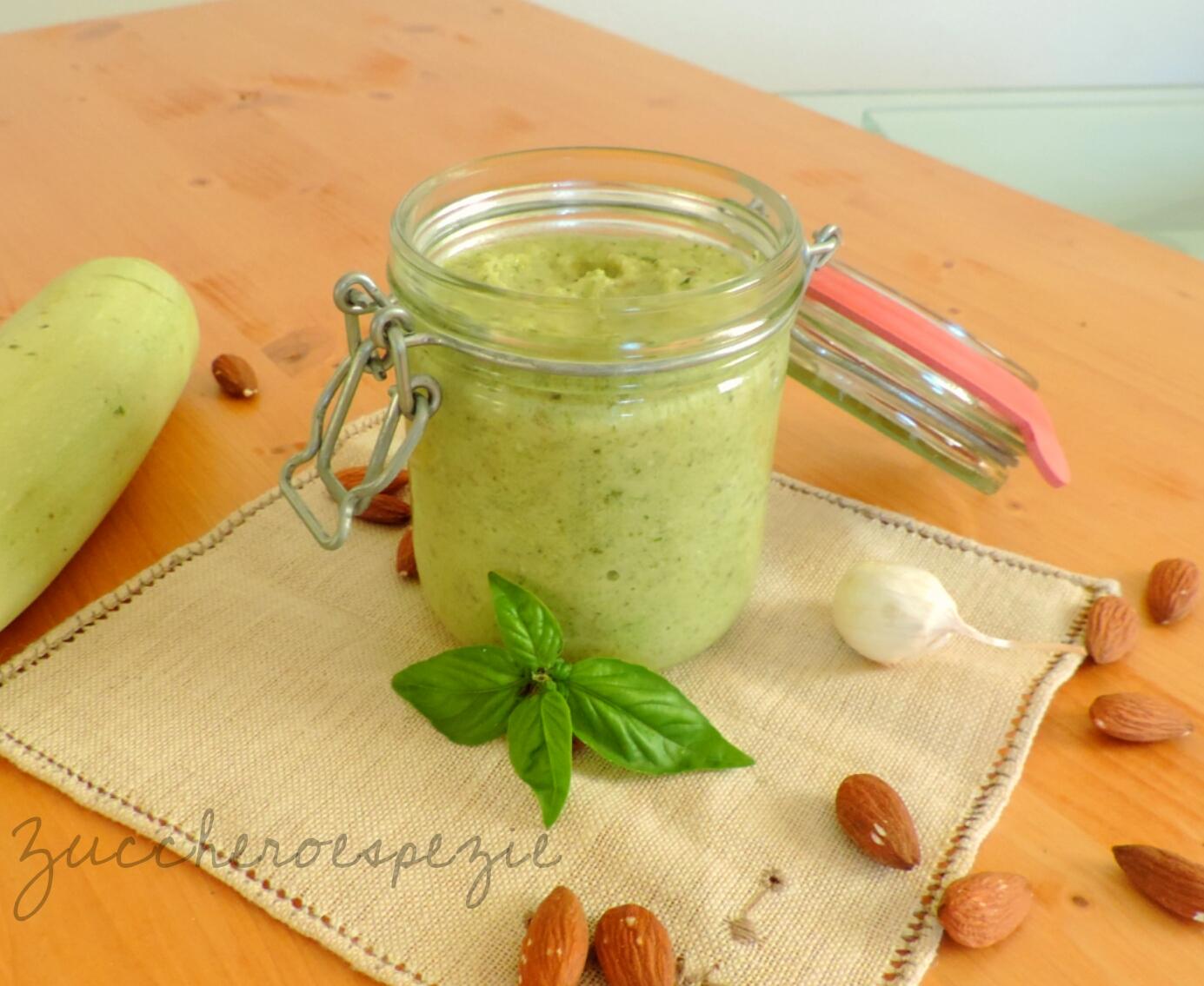 pesto di zucchine cotto con o senza cuco