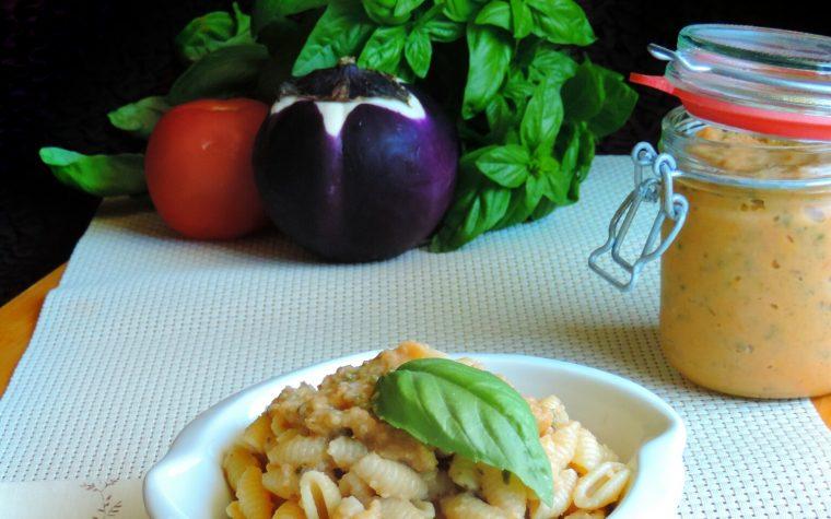 Pesto di melanzane con e senza Cuco