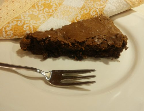 Tenerina, torta morbida al cioccolato