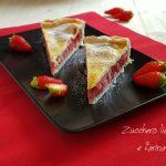 Strawberry pie - Crostata americana alle fragole
