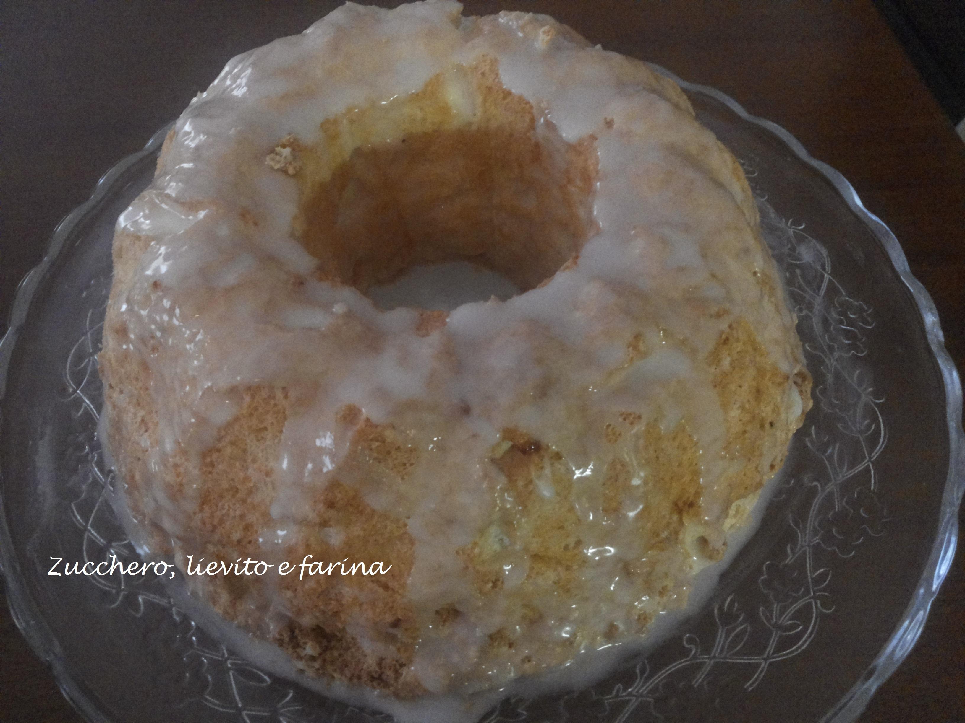 Ricette dolci estere - Angel cake