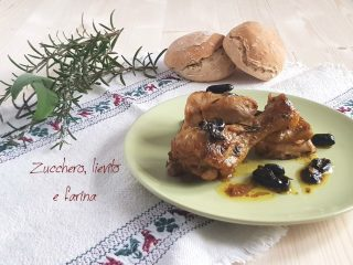 pollo alla cacciatora con olive