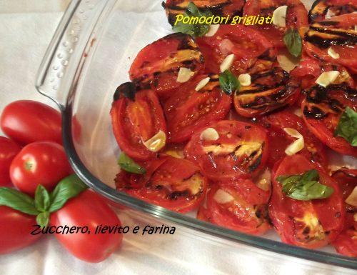 Pomodori grigliati (ricetta velocissima!)