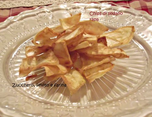 Chips di sedano rapa