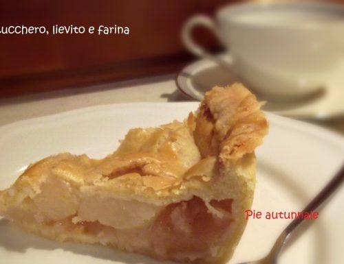Pie con mele e pere – Pear and apple pie