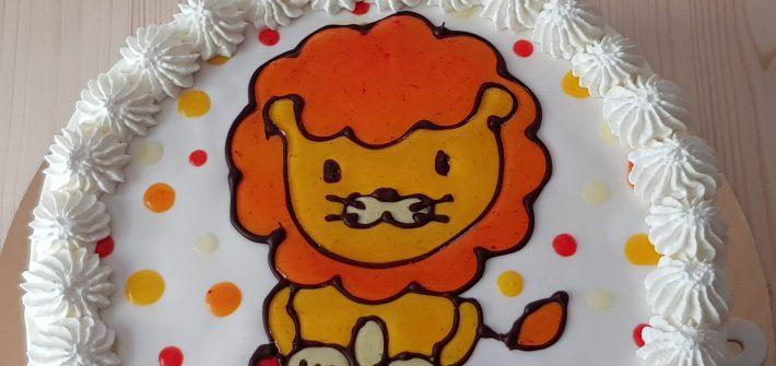 decorazione con la gelatina