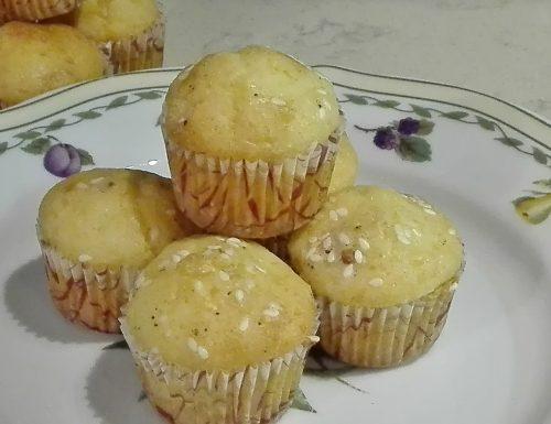 Mini muffin speck e fontina