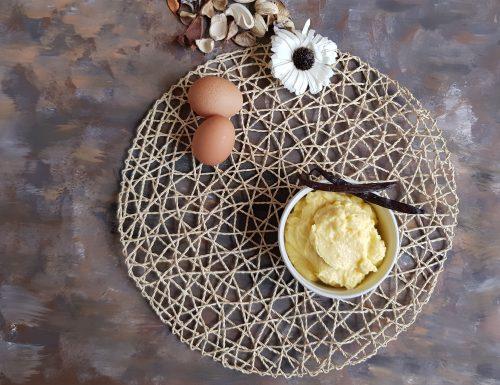 Crema pasticcera senza saccarosio