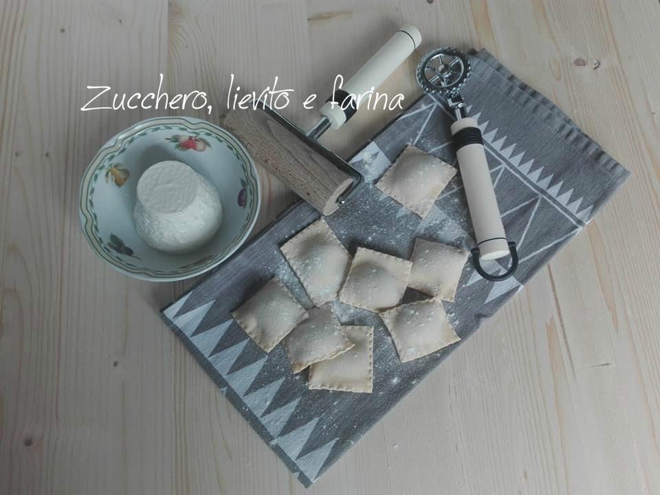 Ravioli di magro con ricotta e spinaci