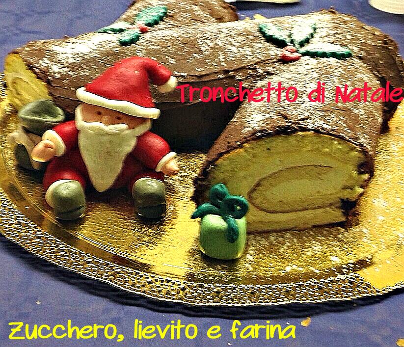 Tronchetto Di Natale Luca Montersino.Tronchetto Di Natale Ovvero Il Tradizionale Buche De Noel