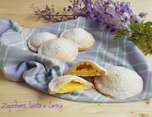 Tortine cuor di crema alla vaniglia