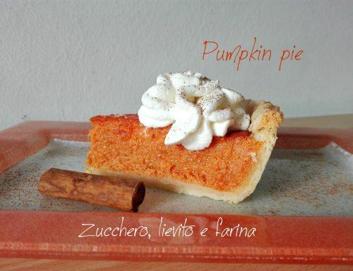 Pumpkin pie – Crostata americana di zucca
