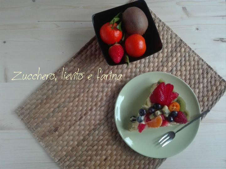 Costata frangipane crema e frutta