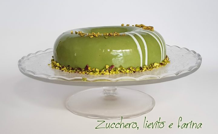 torta pistacchio e panna