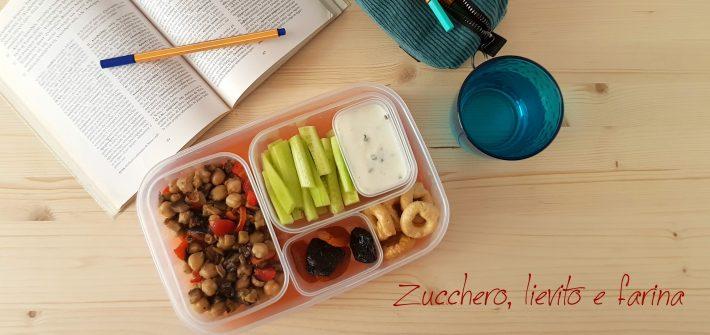 Lunch box vegetariano