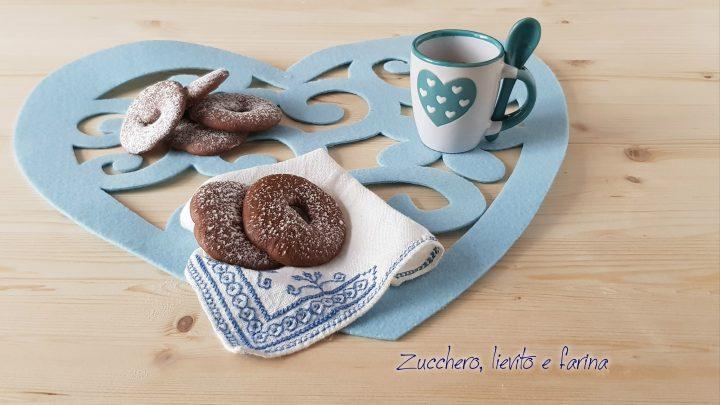 Biscotti al farro e cioccolato
