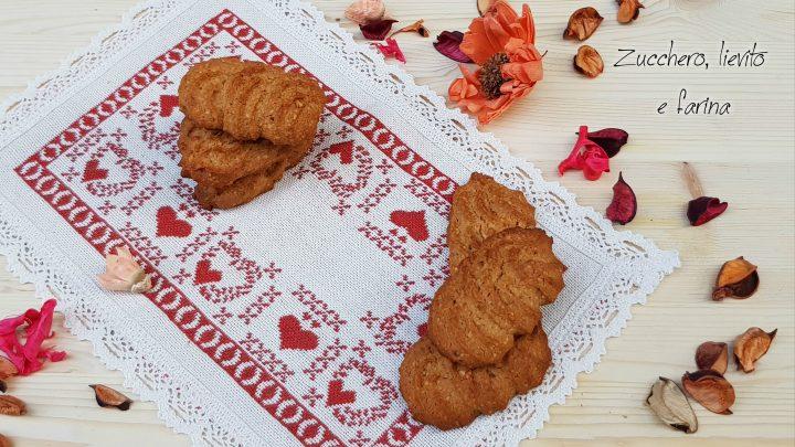 biscotti alle nocciole senza zucchero