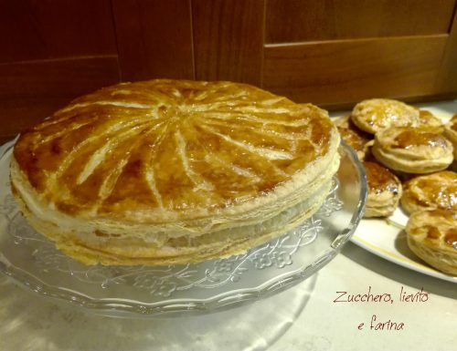 Torta dei re magi o Gallette des rois