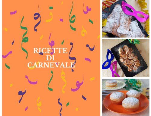 Viva viva il Carnevale – Raccolta di ricette