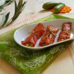 Involtini di bresaola e verdure