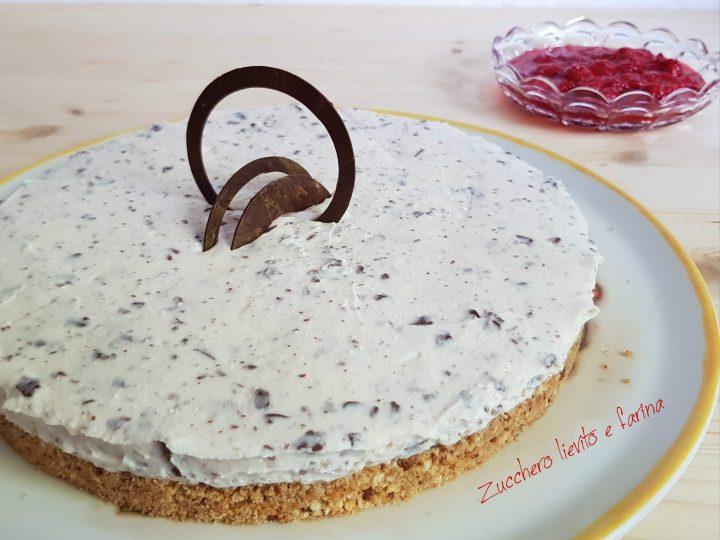 Cheesecake di ricotta e cioccolato
