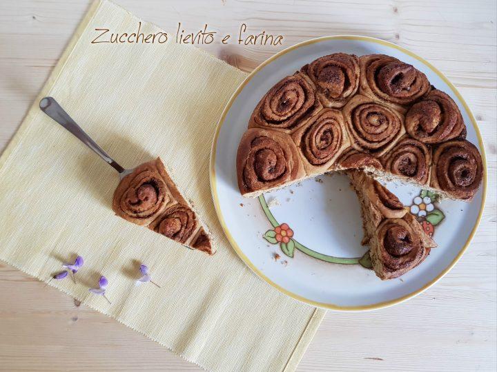 torta delle rose senza zucchero