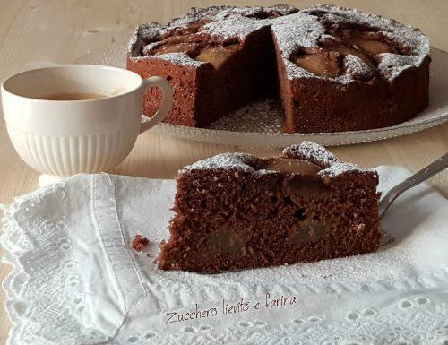Torta pere e cioccolato – Ricetta originale inglese