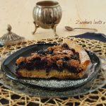 crostata mandorle e mirtilli