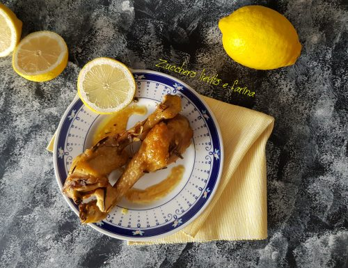 Pollo al limone, semplice al forno