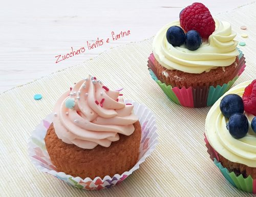 Cupcake carota e vaniglia
